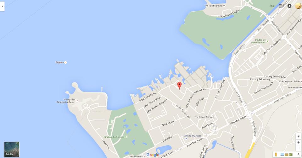 Jalan Kampung Tanjung Aru Baru Google Maps